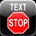 Text Stop logo