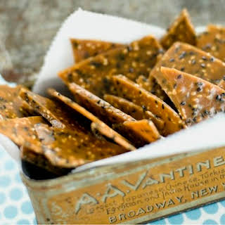 Black-and-White Sesame Brittle.