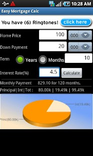 Easy Mortgage Calc- screenshot thumbnail