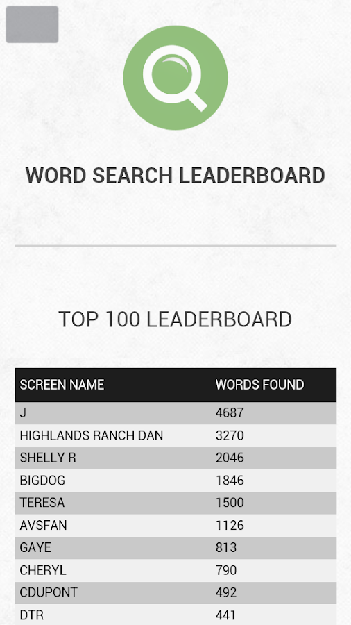 US City Names Word Search- screenshot