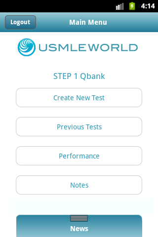 USMLE & ABIM Qbank - screenshot