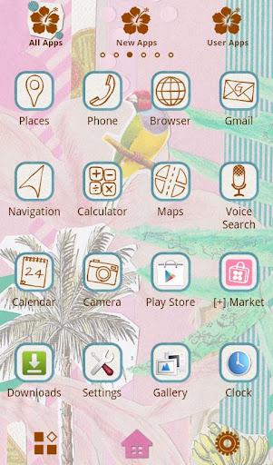 Colorful Theme-Tropical Resort 1.0 Windows u7528 2