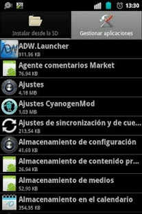 System Apps Manager [ROOT] - screenshot thumbnail