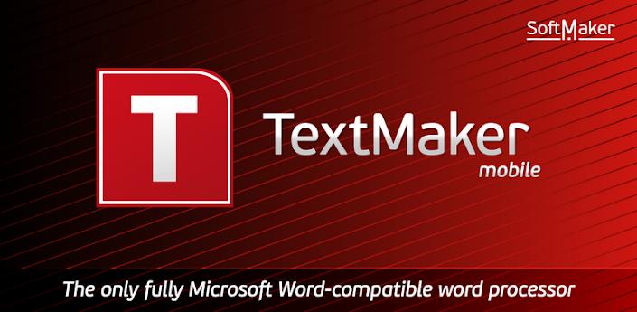 Office 2012: TextMaker Mobile apk
