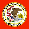 Illinois IL Courthouses Judges logo