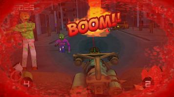 Screenshot of Minigun vs Zombies