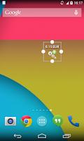 Screenshot of CheckBalance Widget