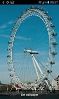 Screenshot of London Eye Live Wallpaper HD