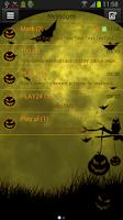Screenshot of GO SMS Pro Theme Halloween