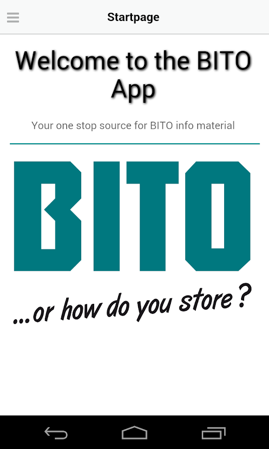 BITO International – screenshot