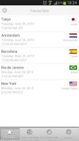 Screenshot of Best World Clock & Time Zones