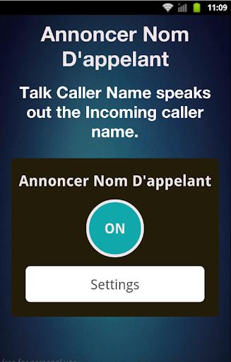 nom d'appelant annonceur