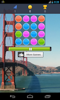 Screenshot of bubbles game