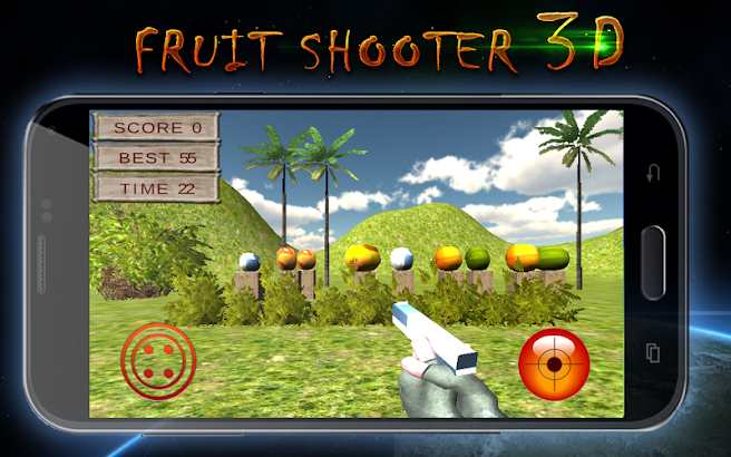 Fruitshooter 3D screenshot