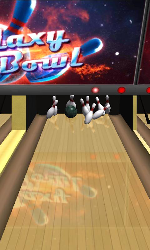 Galaxy Bowling 3D - screenshot