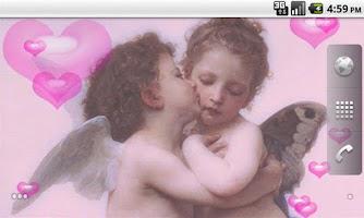 Screenshot of First Kiss LWP Free