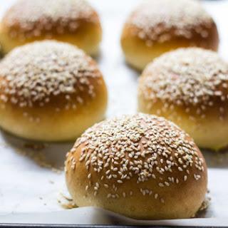 Light Brioche Hamburger Buns {whole Wheat}