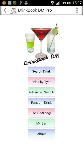 DrinkBook DM PRO