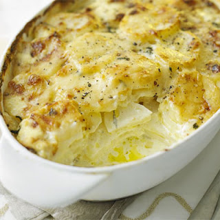 Creamy Cheese & Potato Bake Recipe