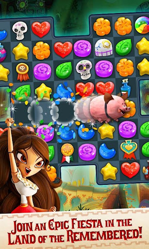 Sugar Smash: Book of Life - Free Match 3 Games.  mod screenshots 2