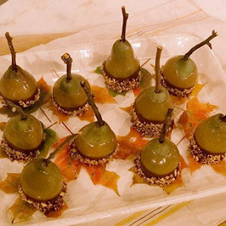Double-Dipped Pears