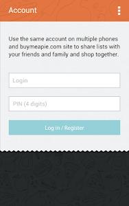 Buy Me a Pie! Grocery List Pro v1.8