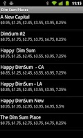 Screenshot of Dim Sum Bill Calculator