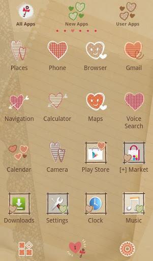 Cute Theme-Open Your Heart- 2.0.0 Windows u7528 2