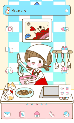 Cooking dodol launcher theme