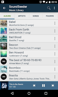 SoundSeeder Music Player - screenshot thumbnail