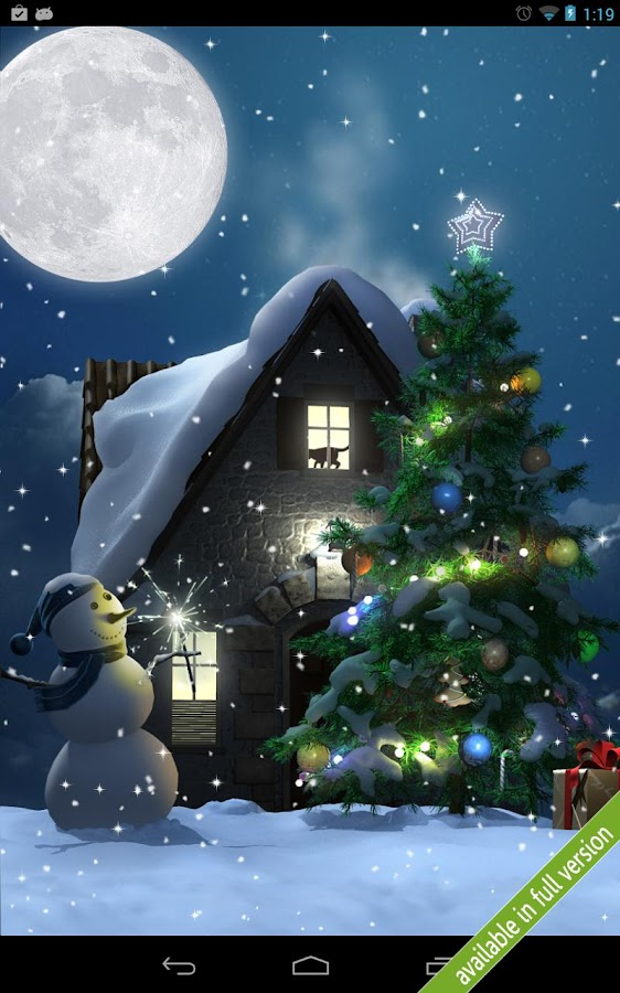 Christmas Moon free- screenshot