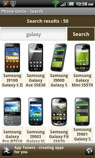 Phone Genie - GSMArena Browser