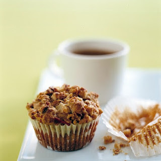 Pear-and-Granola Muffins.