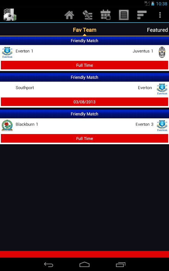 Soccer Score Centre - screenshot