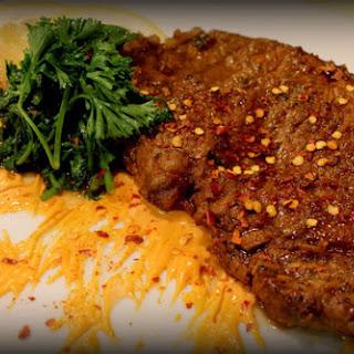 Spicy Sweet Beef Steak.