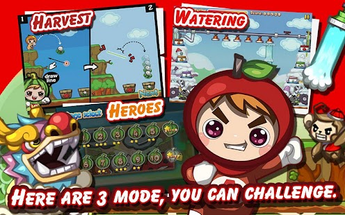 Fruit Heroes Lite- screenshot thumbnail