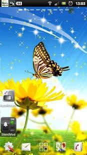Kelebek canlı duvar kağıtları - screenshot thumbnail
