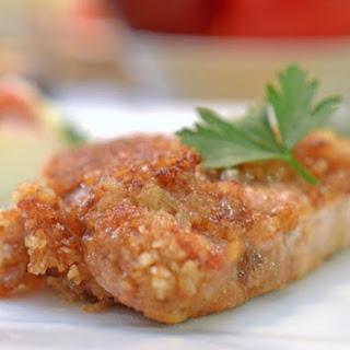 Apple Butter Dredged Pork Cutlets