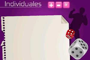 Screenshot of Un cacho de cacho (yahtzee!)