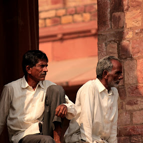 Palace 1 by Mitrava Banerjee - People Portraits of Men