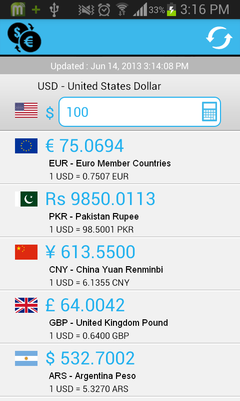 FREE Currency Converter Pro- screenshot