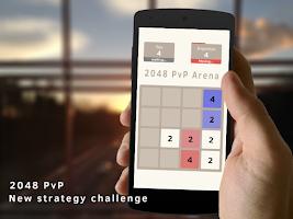 Screenshot of 2048 PvP Arena