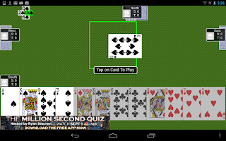 Screenshot of Hearts!