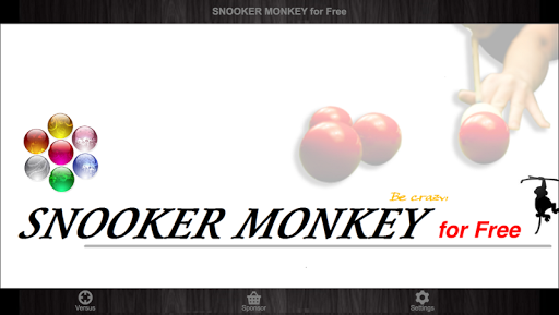 SNOOKER MONKEY for FREE