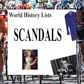 World History Lists - SCANDALS