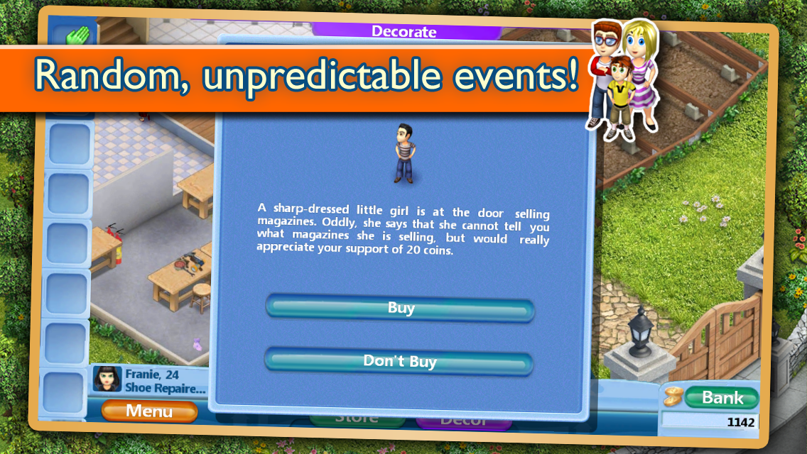 Virtual Families 2 - screenshot