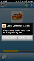 Screenshot of Spirit FM Baler Aurora