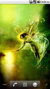 Golden Fairy LWP - screenshot thumbnail