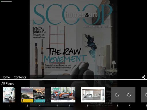 Scoop Homes Art Magazine