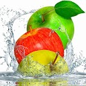 Apples Splashing Magic Water logo